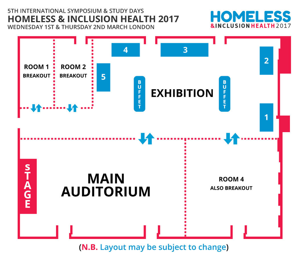 Exhibition Floor Plan 2017